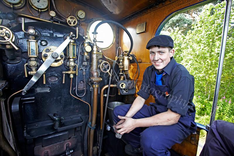 Strathspey Railway - Crew - 12 August 2012