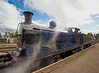 Strathspey Railway Loco 828 - Boat of Garten - 8 August 2012