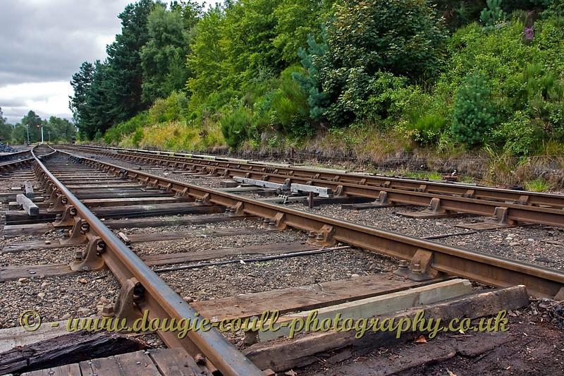 Railway Tracks - Boat of Garten