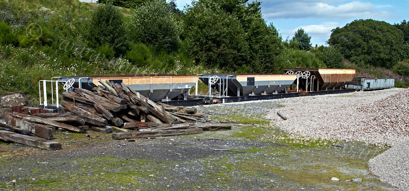 Goods Siding at Broomhill Station - 12 August 2012
