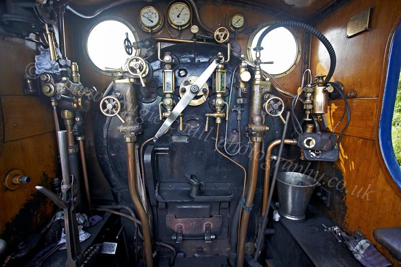 Strathspey Railway - Caly Loco 828 - 12 August 2012