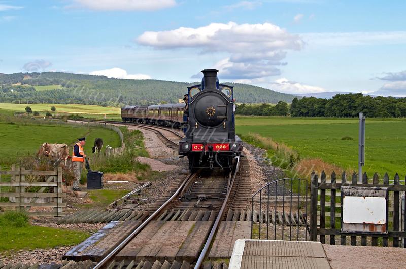 Strathspey Railway - Broomhill Station - 12 August 2012