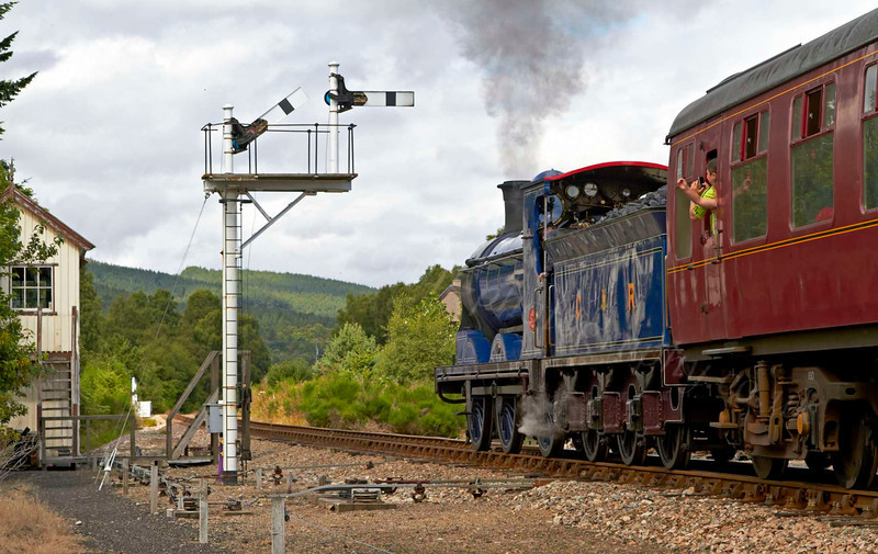 Strathspey Railway - Boat of Garten - 8 August 2012