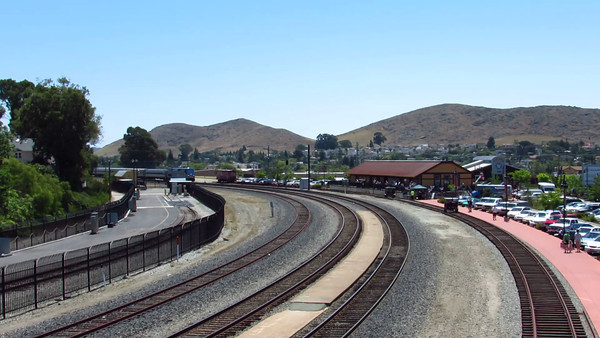 Surfliner Arrives SLO On Train Day Vid