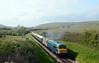 56006 + 73107 2N21 1645 Norden ~ Swanage crosses Corfe Common