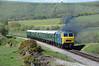 D7076 2N19 1600 Norden ~ Swanage crosses Corfe Common 1613 09/05/15