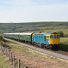33201 heading away from Corfe Castle with 2N23 1730 Northam ~ Swanage