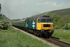 47635 2H12  13 30 Norden ~ Harmans Cross departs Corfe Castle<br /> 1335 11/08/08