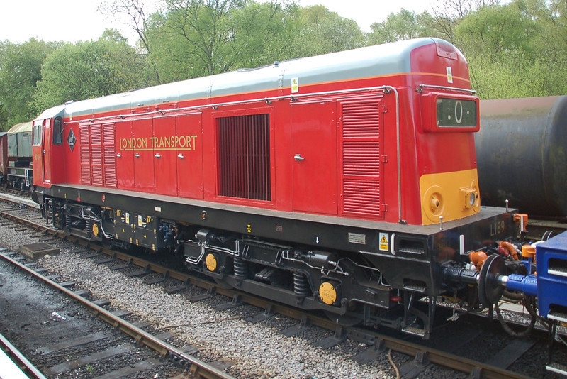 20189 L189 - Norden, Swanage Railway - 11 May 2013