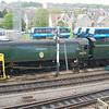 34070 Manston - Swanage, Swanage Railway - 9 May 2014