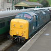 55002 The Kings Own Yorkshire Light Infantry - Corfe Castle, Swanage Railway - 9 May 2014