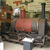 B&S /1874 Secundus - Corfe Castle Museum, Swanage Railway - 9 May 2014