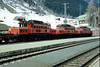 OBB1020.33/37/31 St.Anton am Arlberg 2nd April 1986