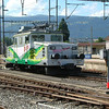 Yverdon Sainte-Croix Ge4/4 at Yverdon-les-Bains. Painting crocodiles on the side does not a Krokadil make.