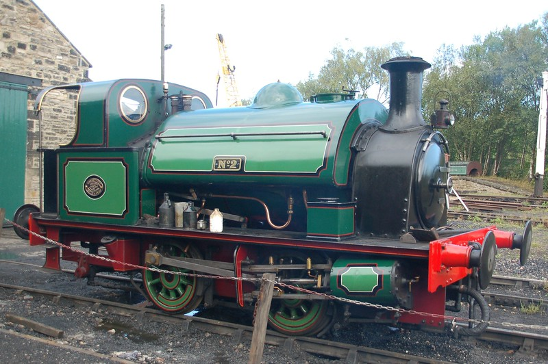 HL 2859 No.2 - Tanfield Railway - 16 August 2018