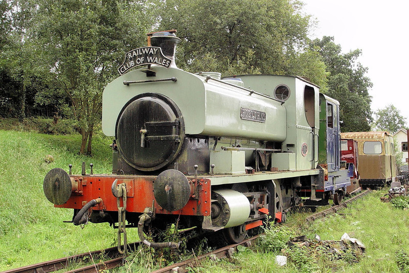 1385 'Rosyth No1' A Barclay 0-4-0ST Teifi Valley Railway