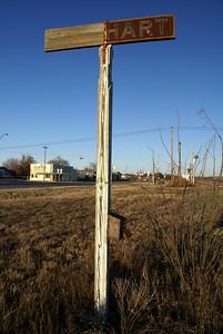 Barnhart, TX Station Sign