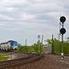 Amtrak, Haslet Turnout 04-19-09