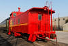 Dallas RR Museum ATSF All Steel Caboose