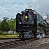 KCS Interlocker, Jefferson TX. <br /> UP 844 Valley Eagle Heritage Special 04-21-10