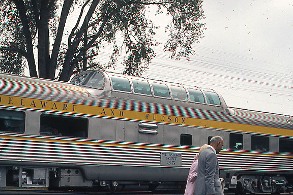 Dome Car Closeup