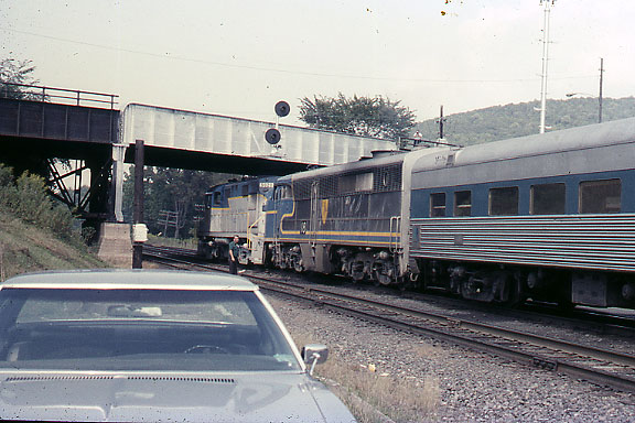 PA Number 18 Trailing Engine 5020 with Coach