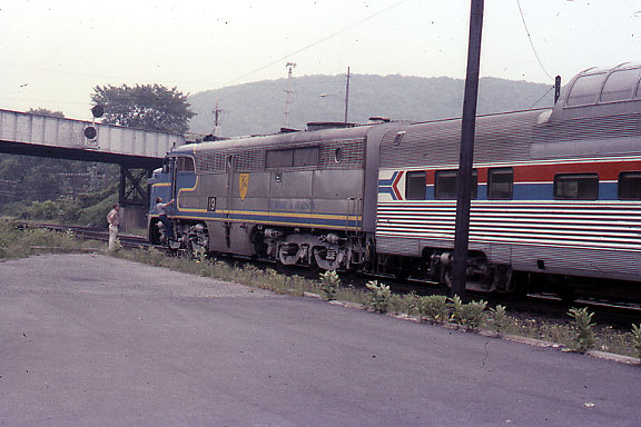 PA Number 19 with Amtrak Dome