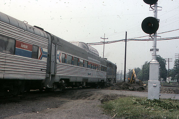 Single PA with Amtrak Dome