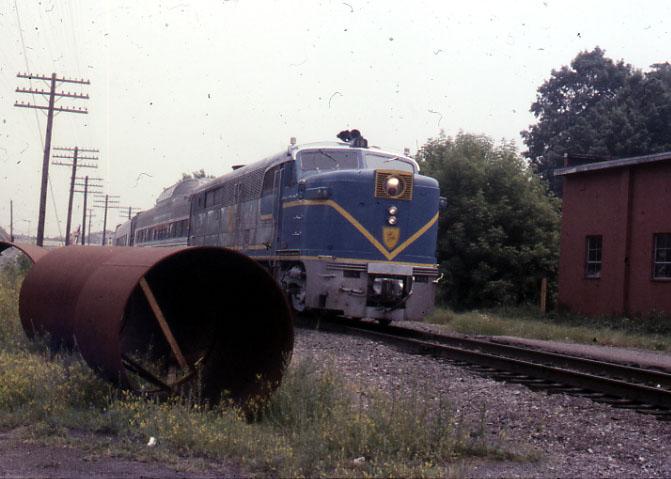 Single PA with Train