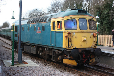 33103 'Swordfish' East Grinstead 21/3/14