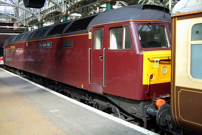 47786 Roy Castle OBE, which was on the rear of the railtour all day, 11/07/09.