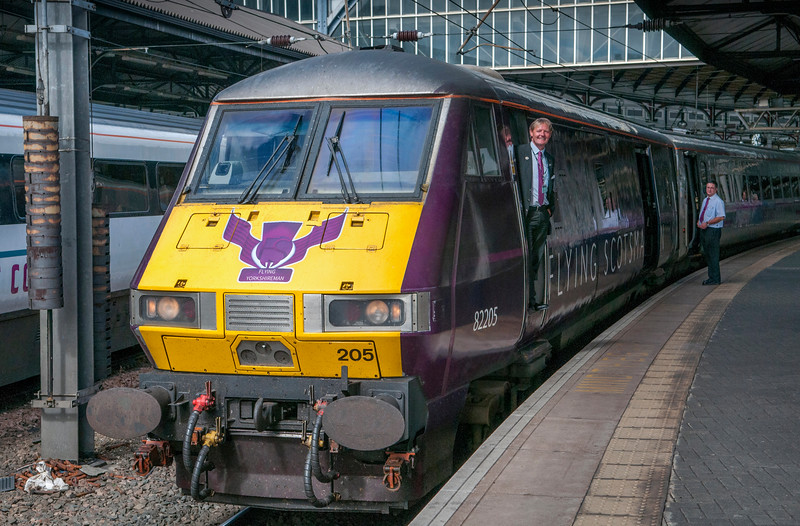 Yours truly  on DVT 82225 at Newcastle Central on 1E18 1400 Edin-Kings Cross.9th August 2013. Image courtesy of Bill Watson.