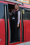 My trainee for the week.The lovely 'Chelsea' learning the ropes.The next generation of Train Drivers.22/12/2016.