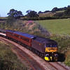 47760 with 47804 on the rear pass Keer Holme with an empty stock from Steamtown to Saltburn 14/7/2011.