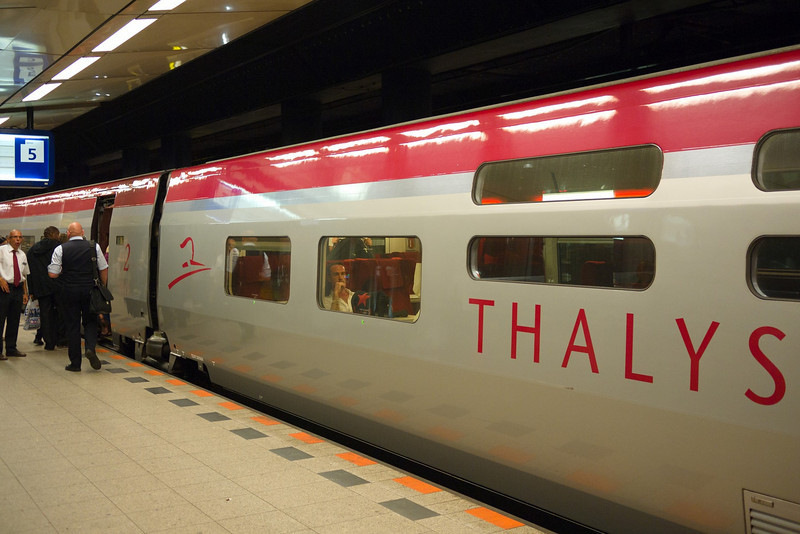 Thalys in Schiphol