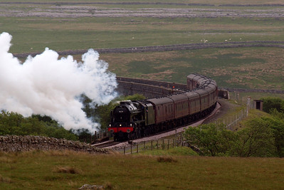 46115 at Ribblehead.