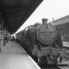Yeovil allocated ex SR Class U 31792 is seen here at Taunton on 25/04/64 ready to work the 16 25 departure to her home town - over a line that closed in June that year. She was withdrawn that October.
