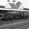 Captured on 11/07/64 looking lost amongst the lines at Seaton Junction was Exmouth Junction's BR 4MT 75022 - being subsequently transferred to Worcester and withdrawn from there in December 65.