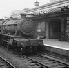 Thursday 3rd September 1964 and Hall 6956 heads east through Worcester Foregate Street.
