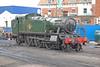 Collet 5101 Class 4160 is seen at Minehead in July 2007 having just been coaled. Built in September 1948, she was withdrawn in June 1965 & sent to Barry scrapyard. She was rescued in August 1974 & rebuilt.