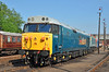 "50008 ""Thunderer"" basks in the late afternoon sun at Barrow Hill 06/07/2013."