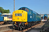 40145 gleams in the evening sun at Barrow Hill 06/07/2013.