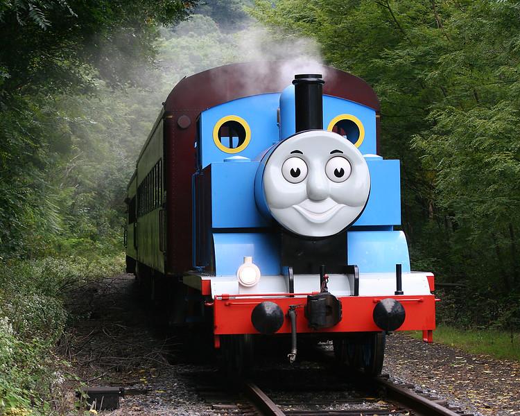 Thomas the Tank Engine steaming ahead