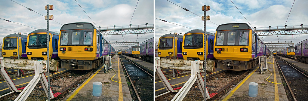 """142 001, BLS """"Northern Tracker"""" Tour, Stockport CARMD, 6th March 2016"""