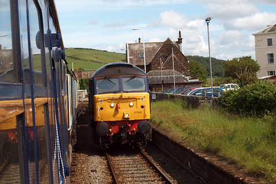 57003 on 6C53 at St Bees.