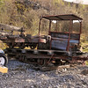 71, Small 4w Round End Flatbed on top of No No. 4w Long Flat - Threlkeld Mining Museum 11.04.12  NG