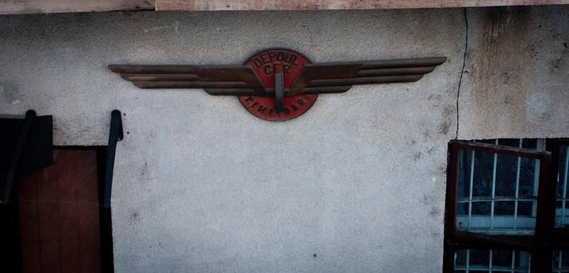 Timisoara depot sign