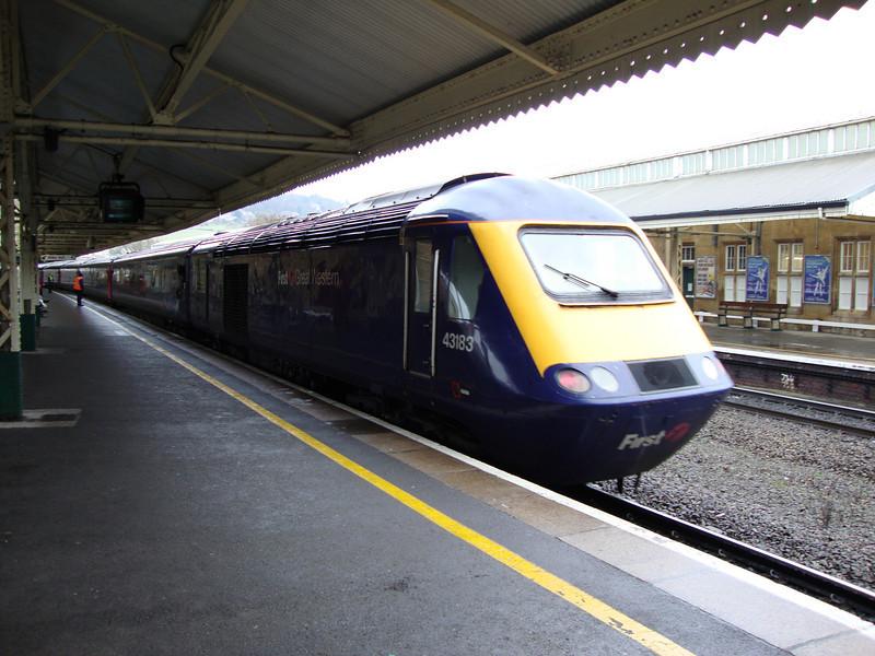 FGW HST to Paddington