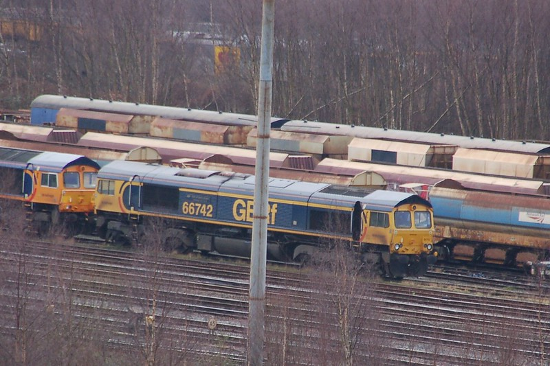 66742 ABP Port of Immingham Centenary 1912-2012 - Toton - 5 March 2017