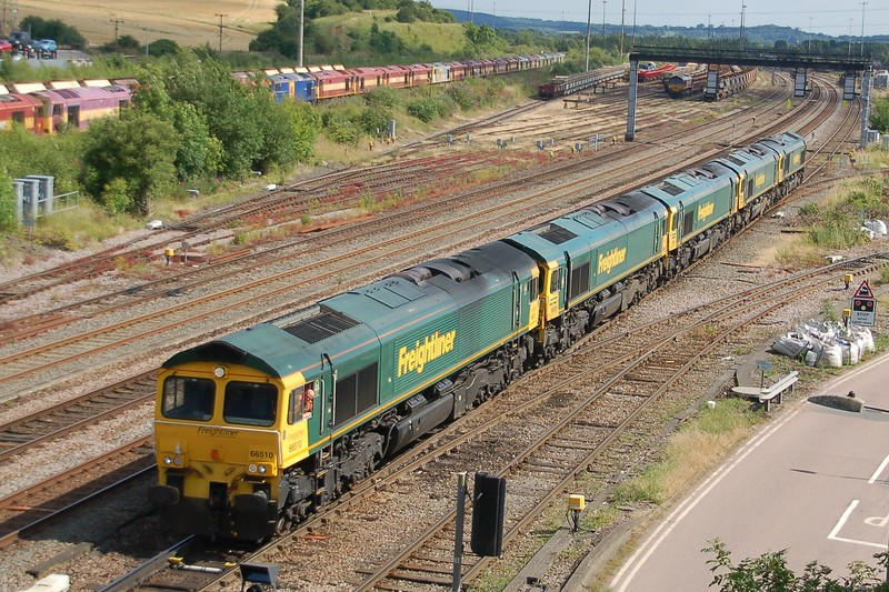 66510, 66539, 66551, 66620 & 66512 - Toton - 1 July 2017